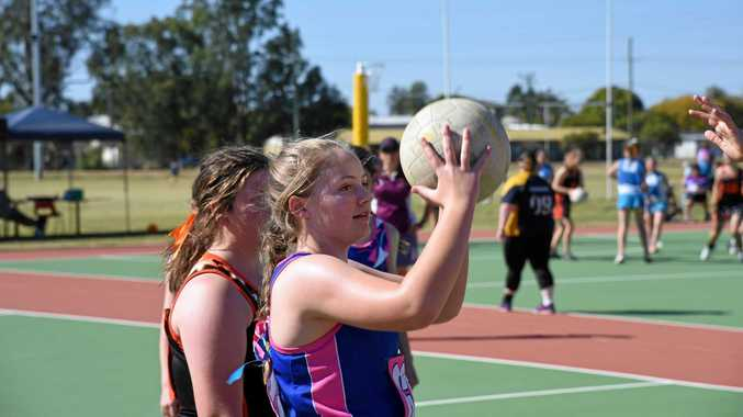 Monto juniors dominate at CBC netball