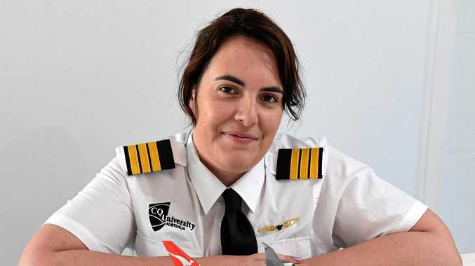 Shanyn's inspiring journey to become a Qantas pilot