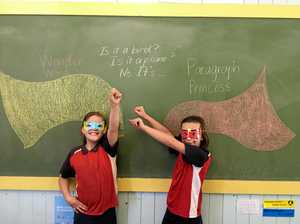 Students gain superpowers in epic week of reading
