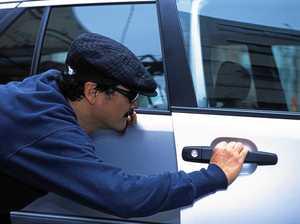 How a thief stole a car with no engine