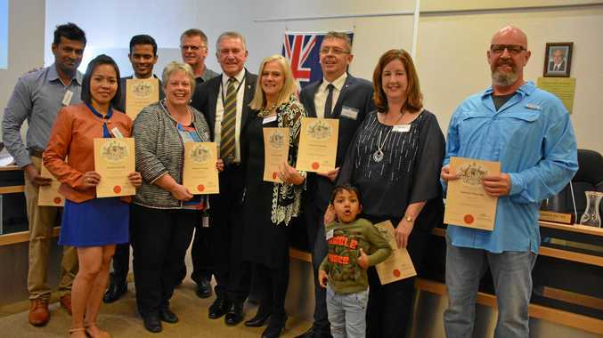 'It's a good life': New Australian citizens share excitement