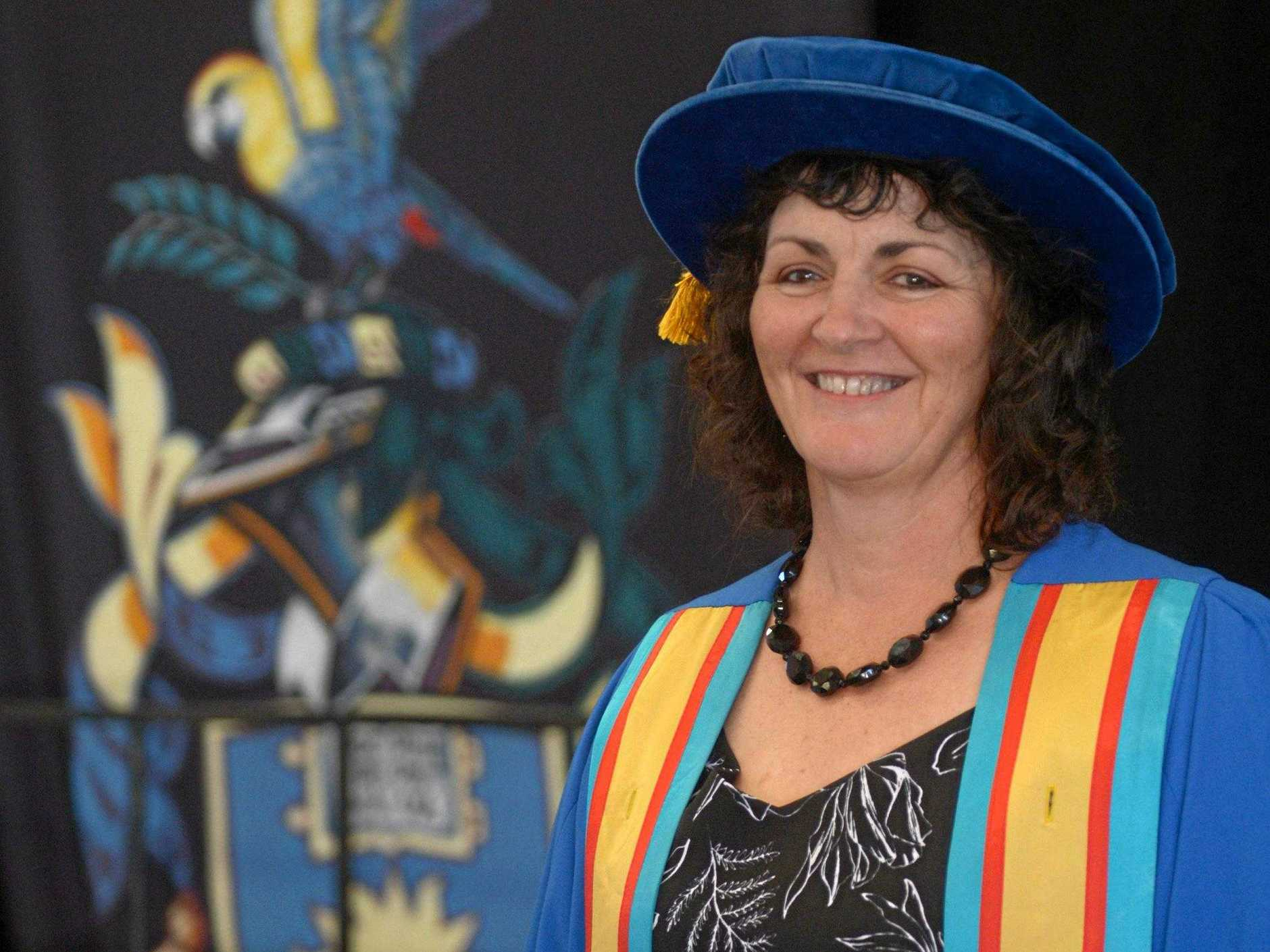 Carolyn Daniels overcame many obstacles to graduate with a PhD from CQUniversity where she also works as a researcher