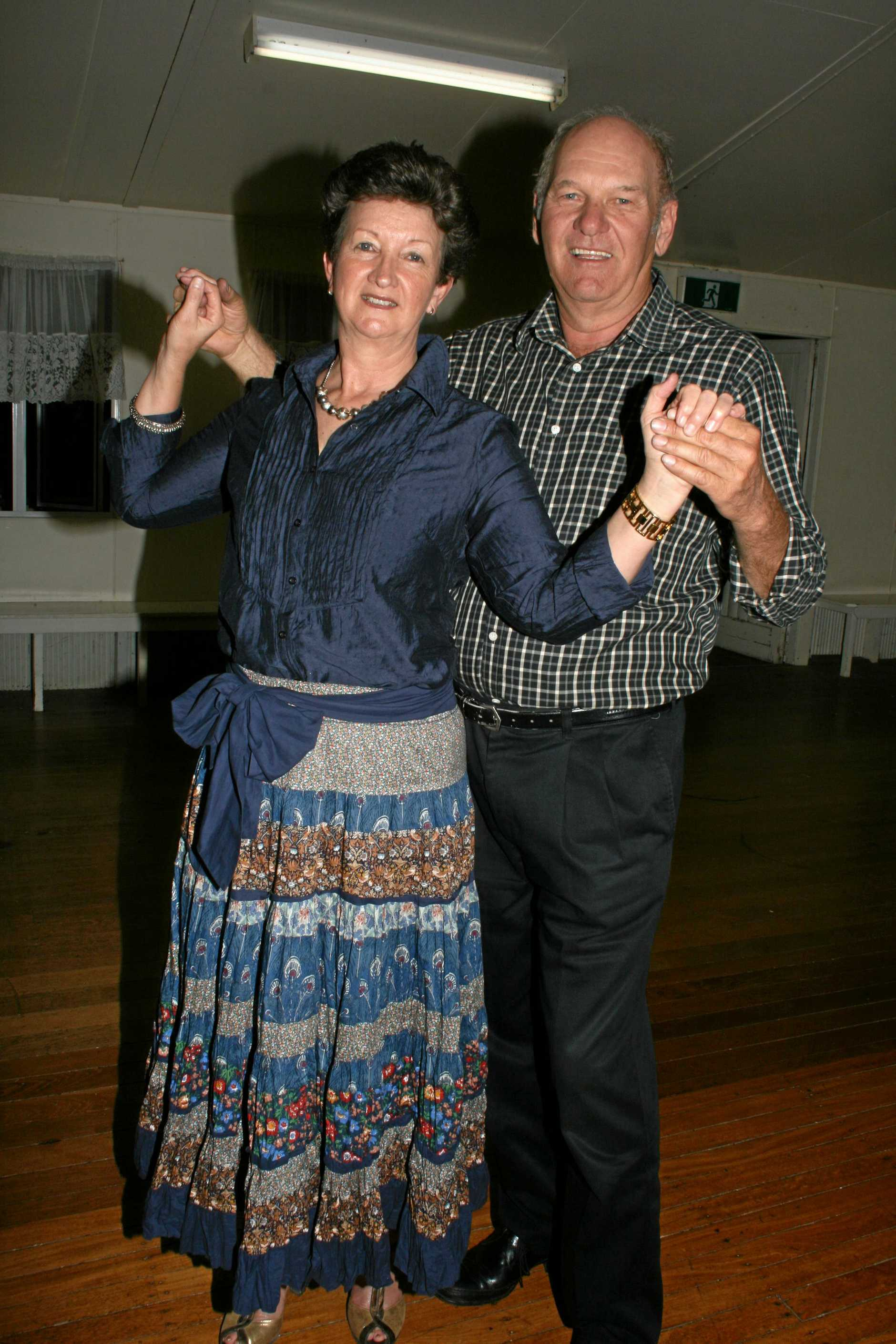 EASY AS WALKING: Anne and Ian Coy love sharing their passion for dancing with the community.