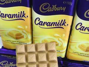 'Return' of rare Cadbury block