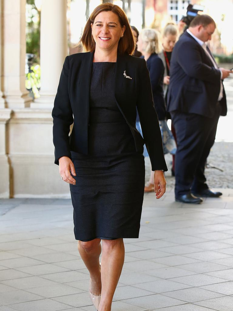 Queensland Leader of the Opposition Deb Frecklington (AAP Image/Jono Searle)