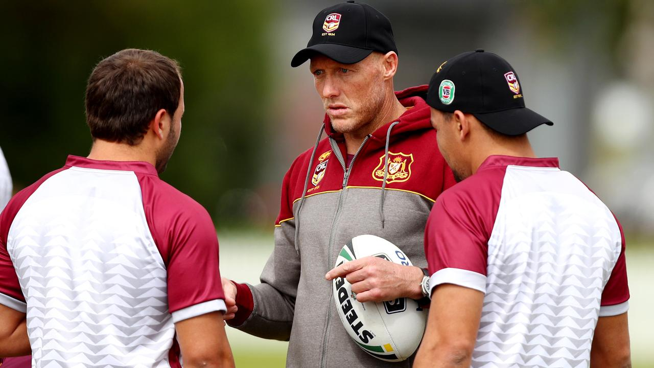 Craig Fitzgibbon would give the Knights new direction. Photo: Gregg Porteous