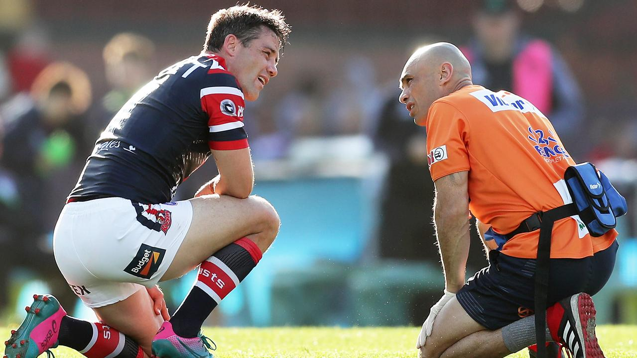Cooper Cronk has taken many a late hit this season.