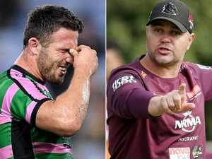 Burgess returns serve at Seibold over 'bizarre comments'