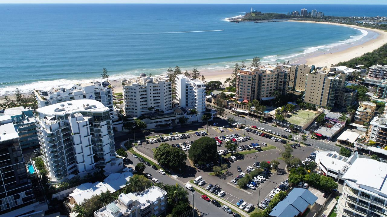 Brisbane Road Carpark redevelopment, Mooloolaba, Sunshine Coast.