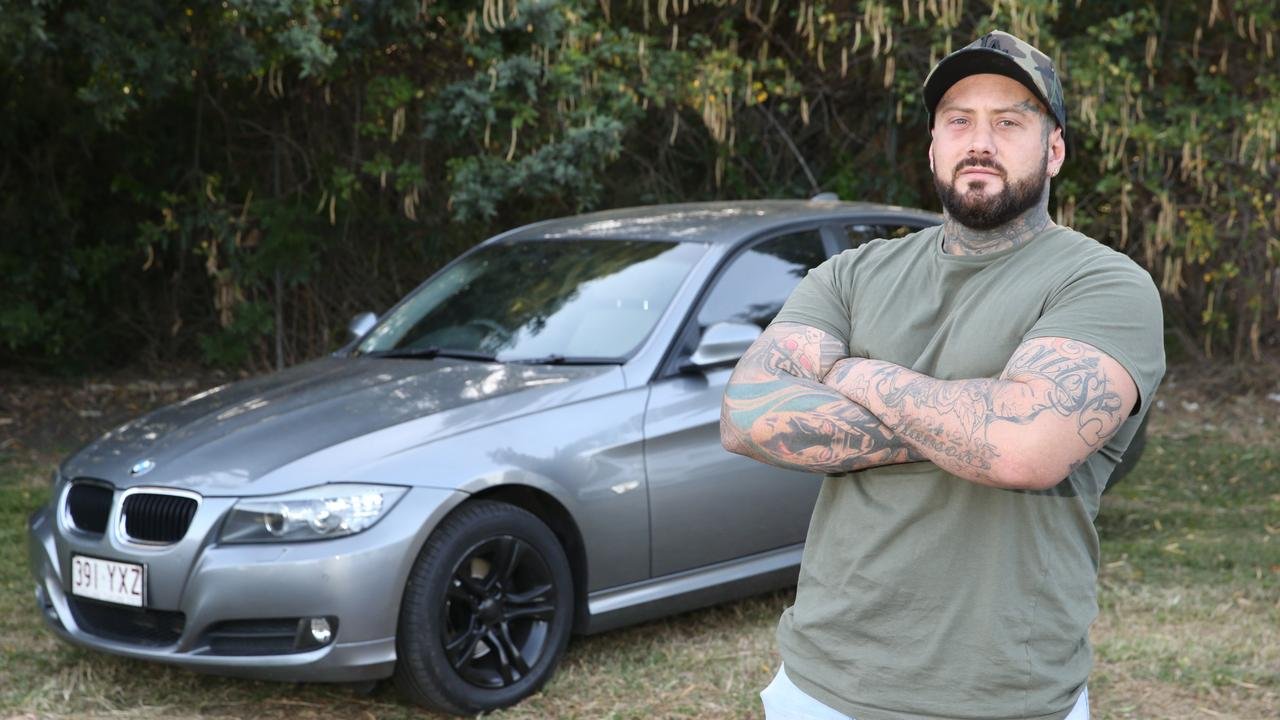 Jake Hanson, an cage fighter, had his car stolen last week. Despite calling police he took it all into his own hands and got his car back. Picture Glenn Hampson