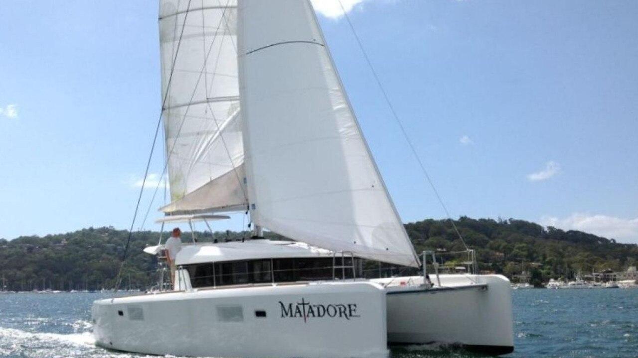 The yacht 'Matador'.