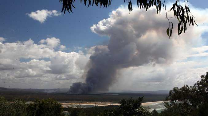 If you see smoke around Noosa today, here's why