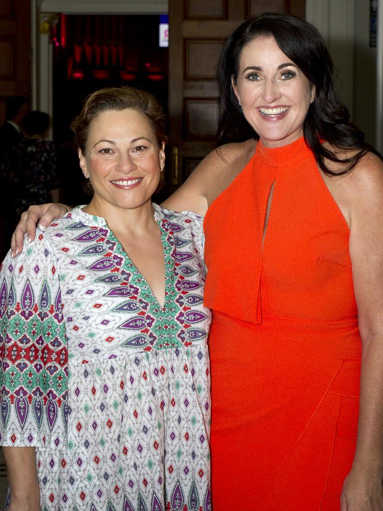 Jackie Trad and Rochelle Courtenay.