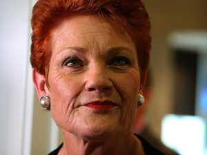 Pauline Hanson to climb the Rock today