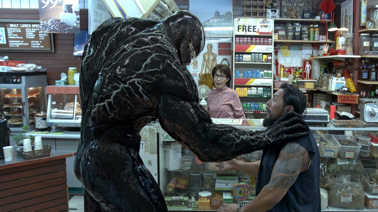 Tom Hardy as Venom. Picture: Sony Pictures