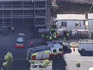 Co-worker saw tradie trip and fall down ventilation shaft