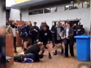 School's spate of violence before vice-principal 'headlock'
