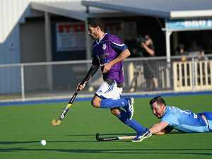 Fraser Coast League Hockey semi-finals action