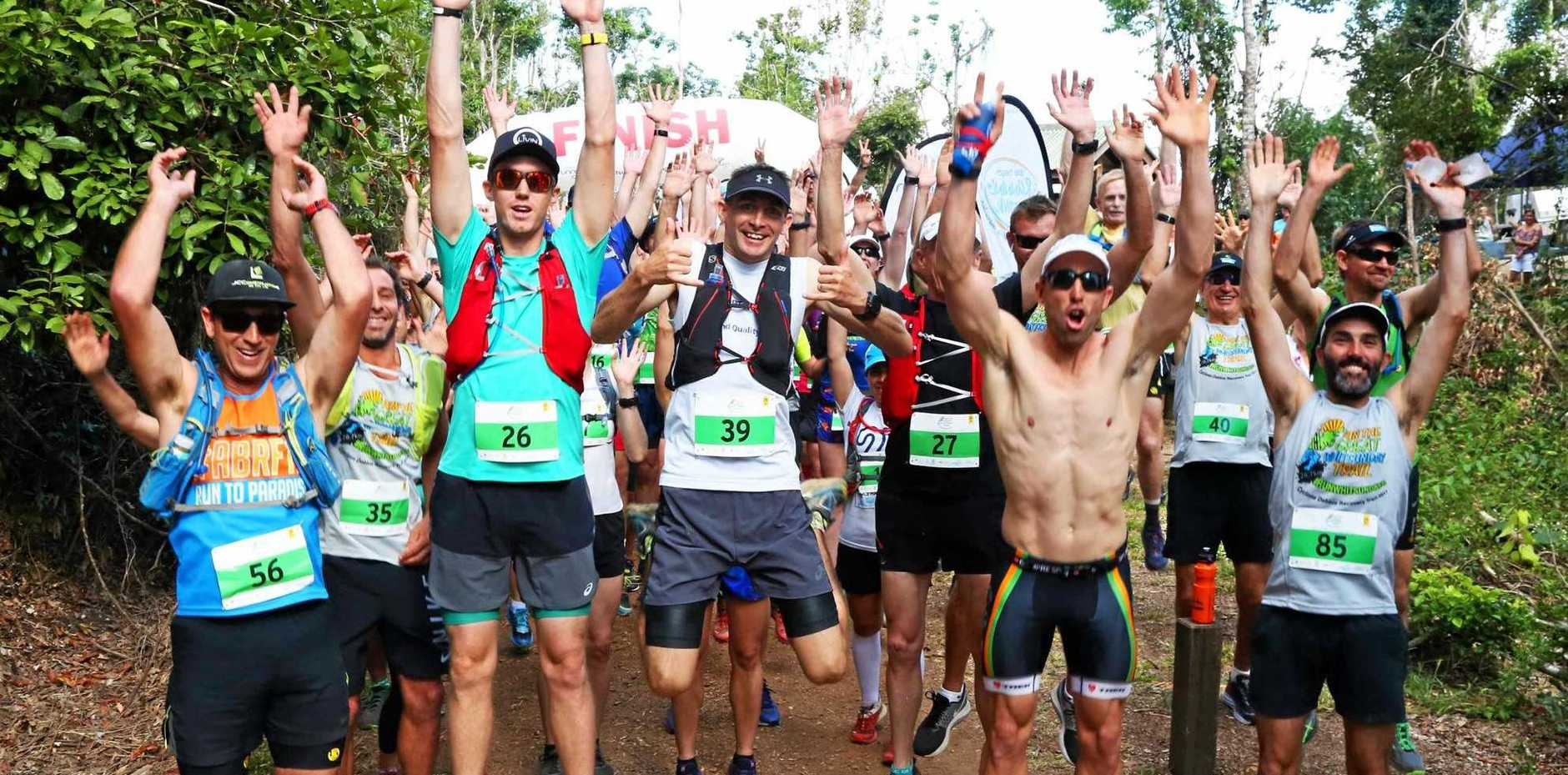 ULTRA FIT: The Run the Great Whitsunday Trail is on next month.