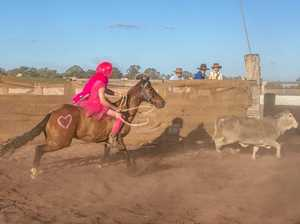 Ballerinas steal the show at campdraft
