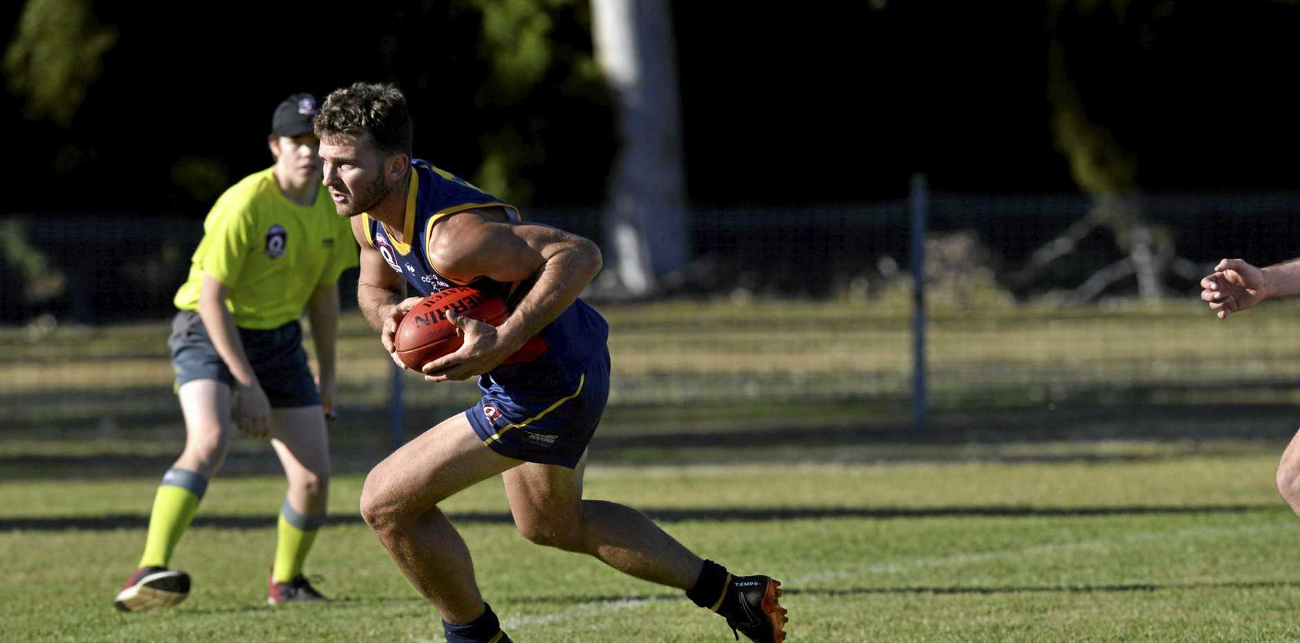 ON THE MOVE: Jacob Hawksworth has been a key piece of the puzzle for University, and they will again look to him against Highfields today.