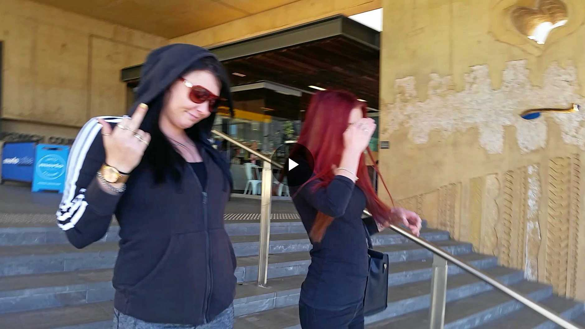 COPS ASSAULT: Heather Drysdale pleaded guilty to assaulting three police officers at a hotel.