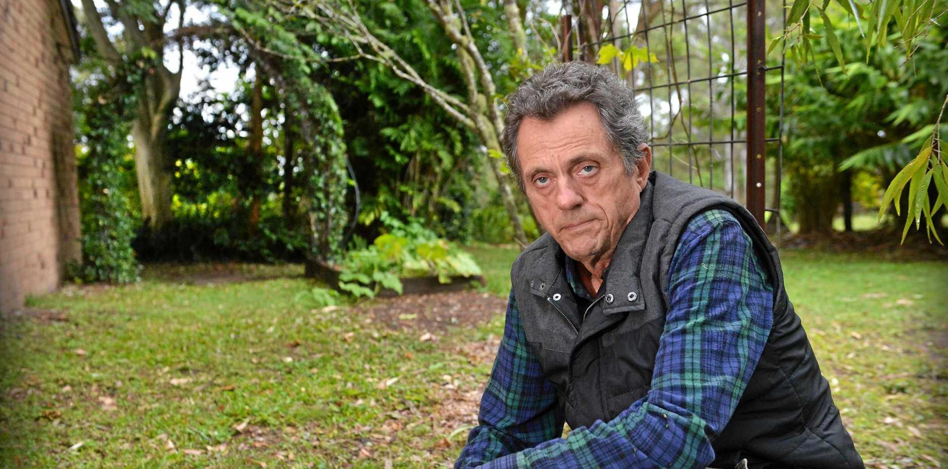 Yandina-based naturalist Greg Roberts