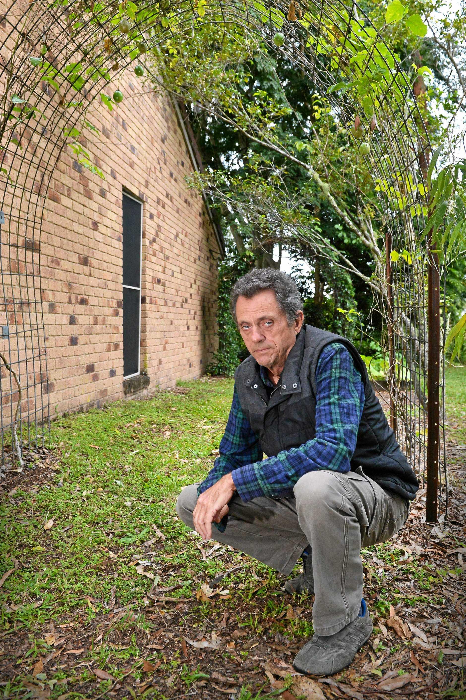 Yandina based naturalist Greg Roberts