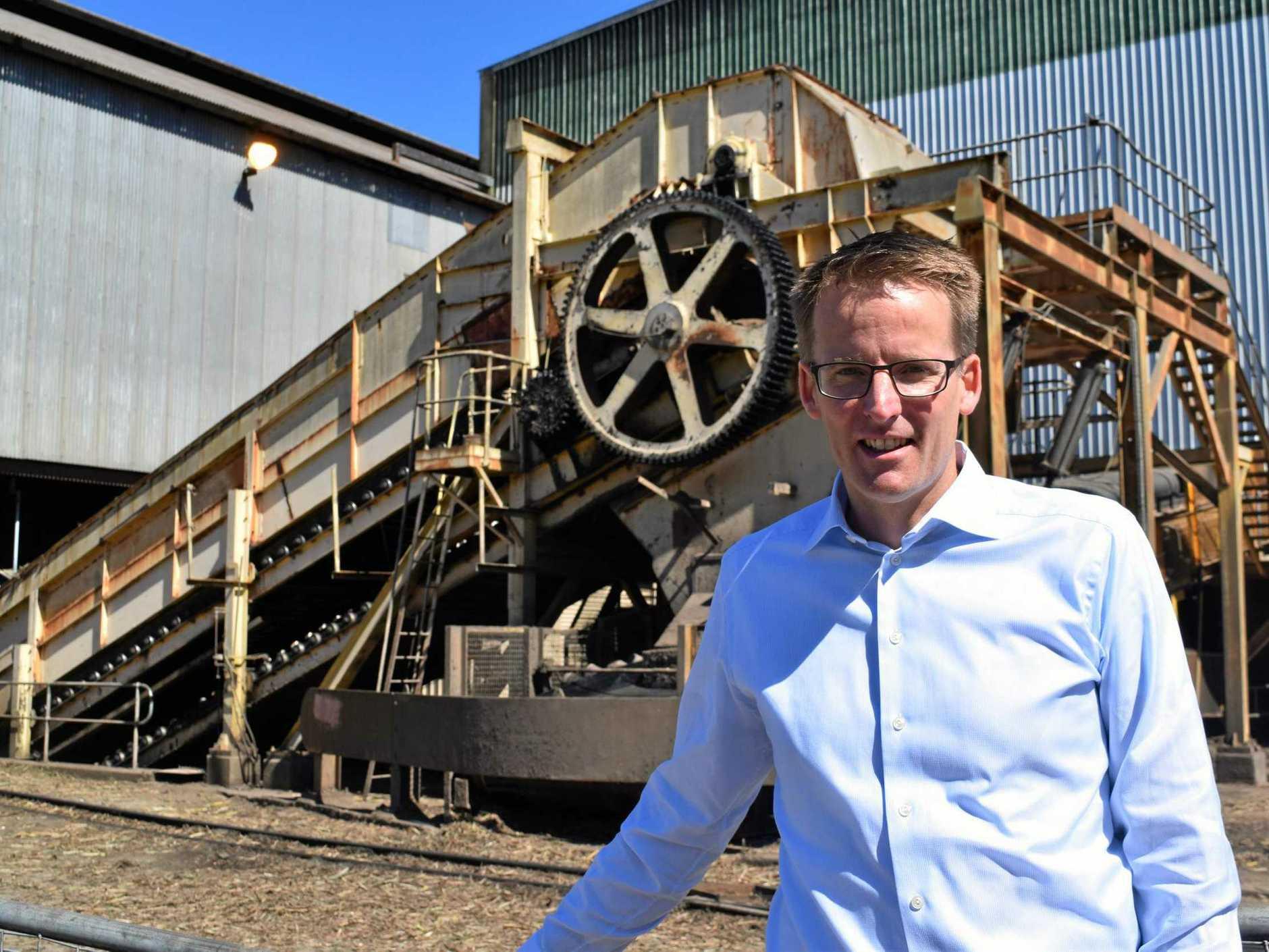 Nordzucker CEO Lars Gorissen toured Farleigh Mill today during a visit to Mackay.