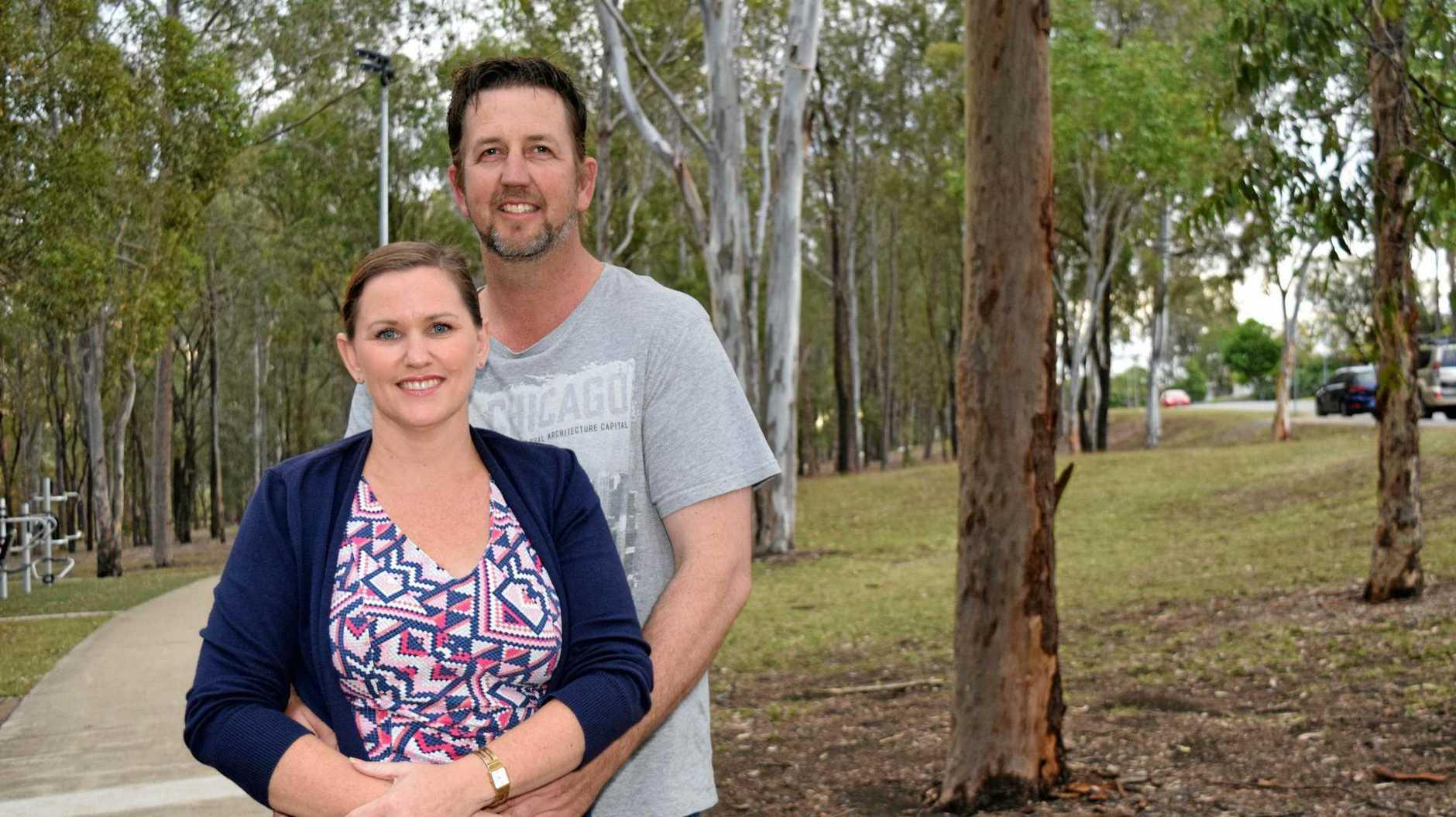 Matt and Fiona Ralston who call themselves 'The Accidental Renovators'