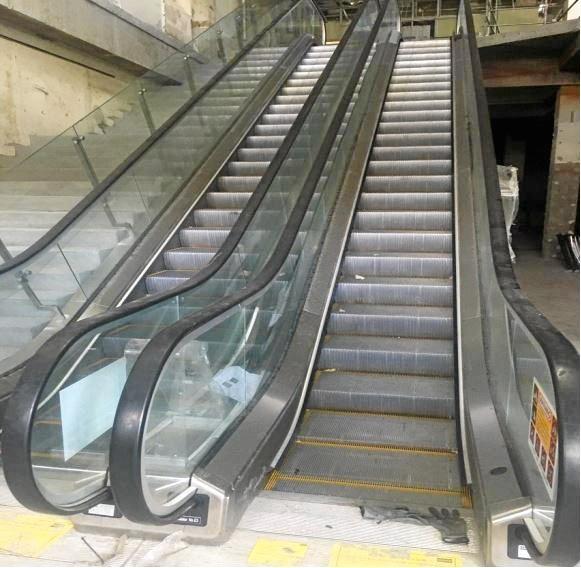 File photo of an escalator.