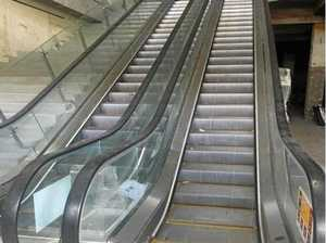 TRAPPED: Woman injured in Gympie escalator incident