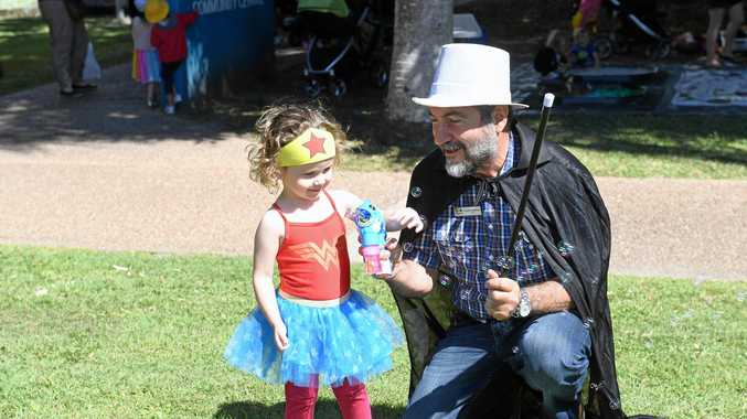 BOOK WEEK: Cutest kids from Mackay CBD picnic