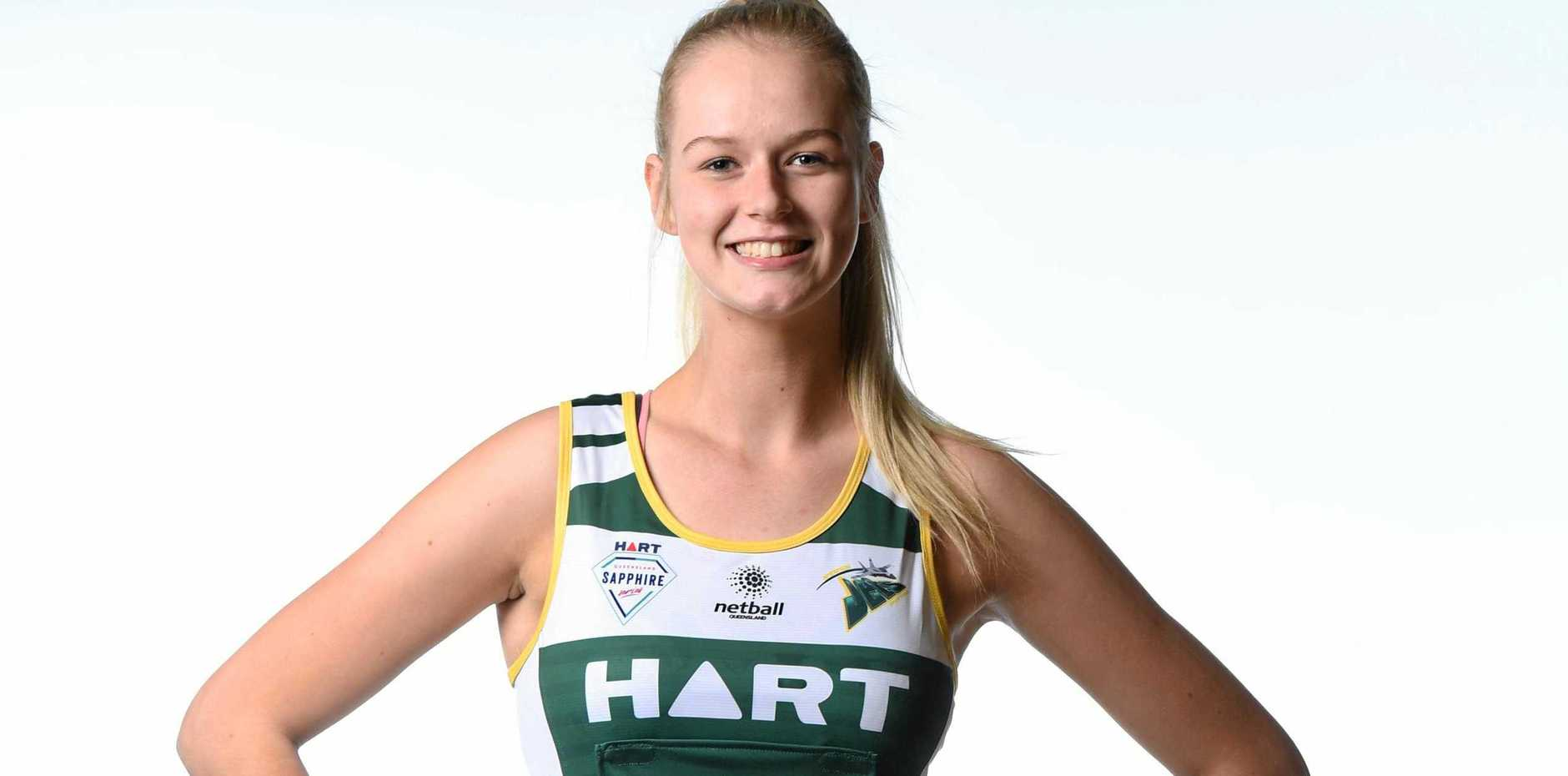 RISING HOPES: Jets netballer Charlie Bell is thriving on the specialised coaching she is receiving.