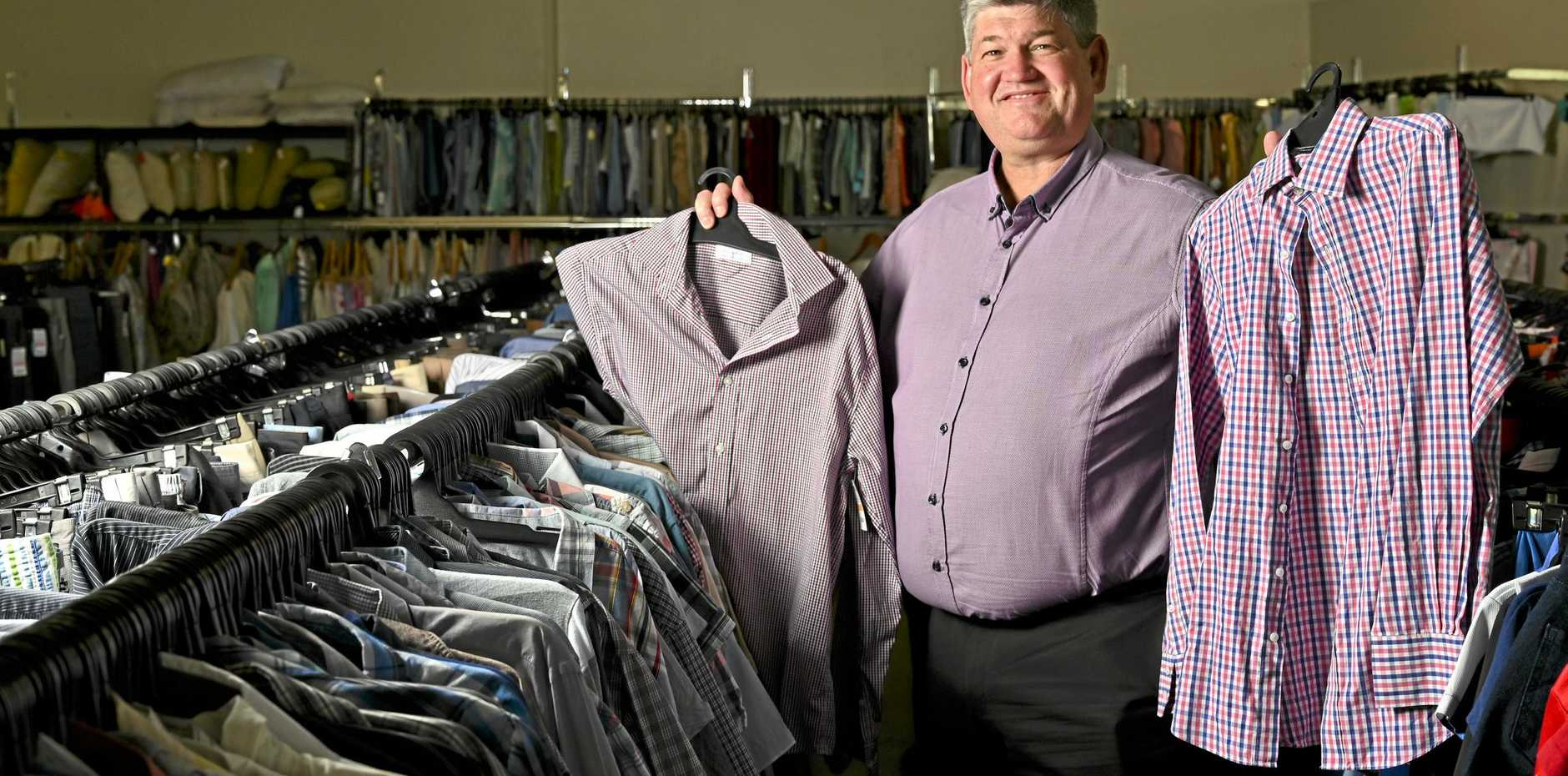 BARGAINS GALORE: Lifeline Regional Development Manager Neil Ramm is hoping for a big crowd at the sale.