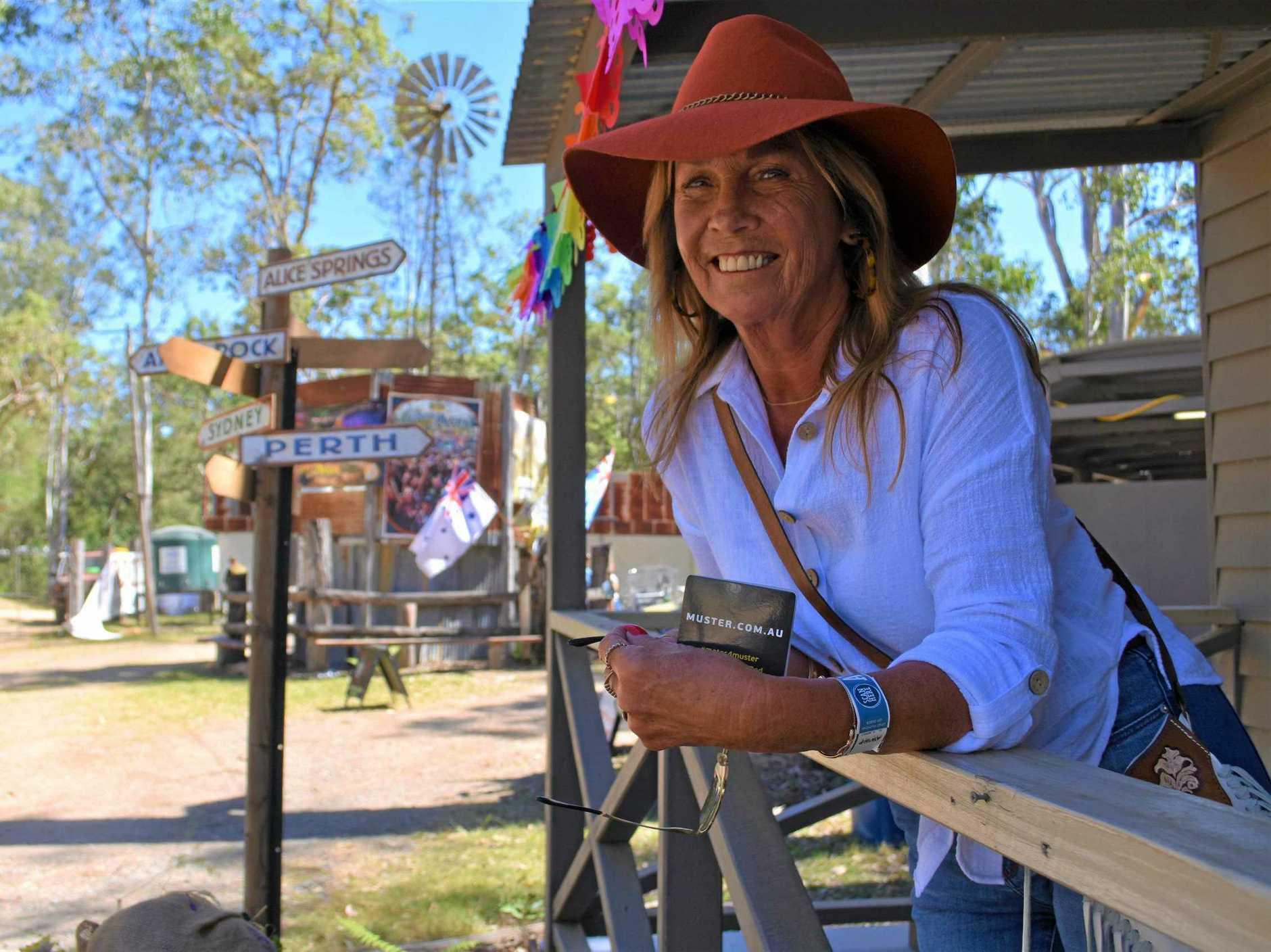 MUSTAHADABLAST: Jenni Randle at her camp.