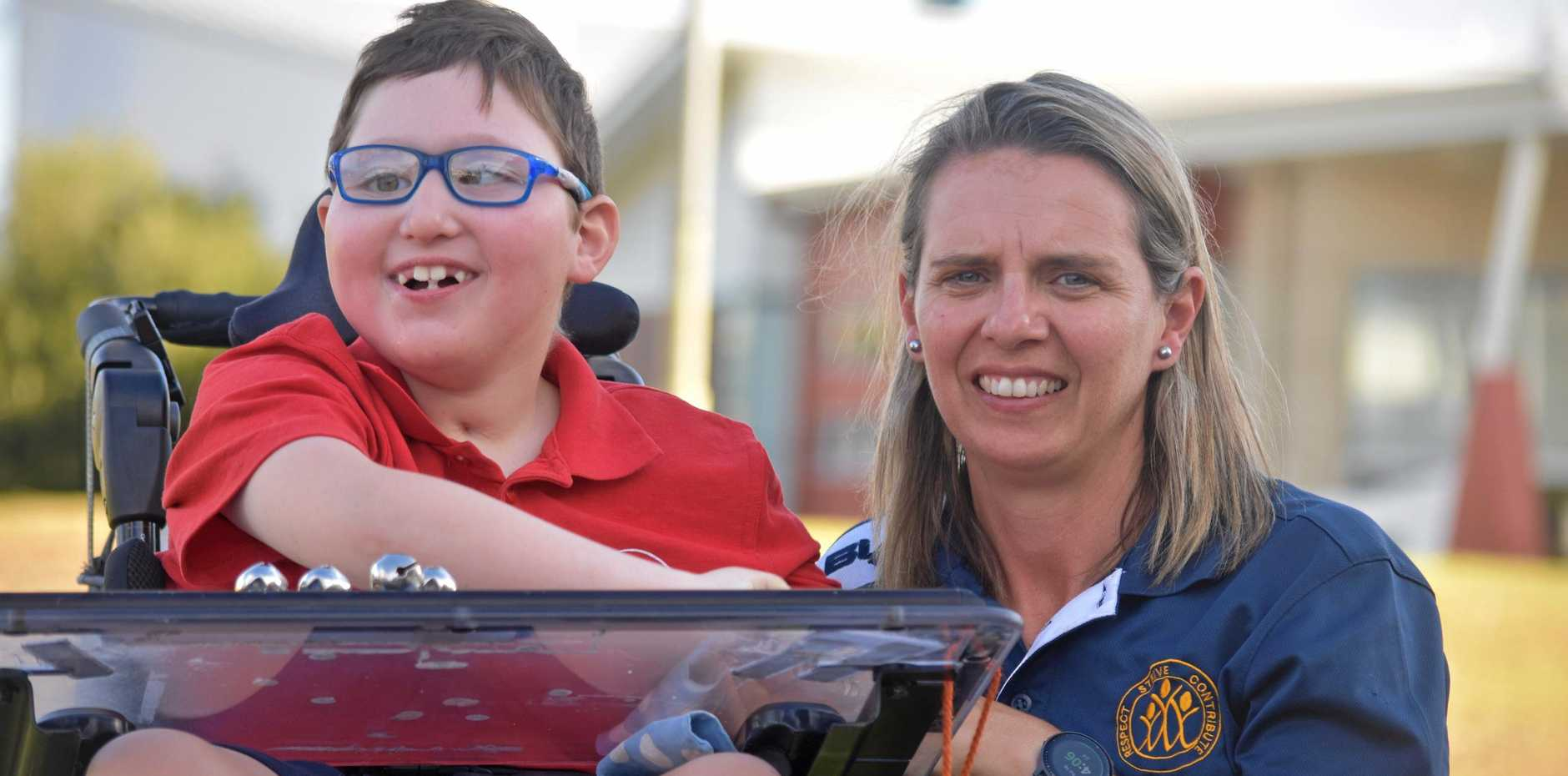 SCHOOL INCLUSION: Mitchell and Leah Wallis encourage everyone to get down to the free advocacy workshops for families of students with disability in the Maranoa next week.