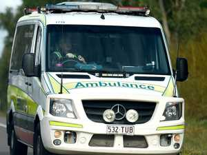 Patient rushed to hospital after early morning crash in Bay