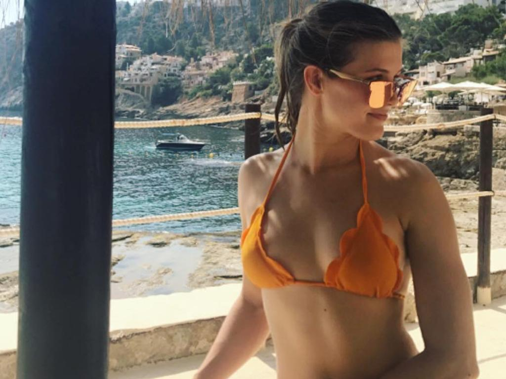 Plenty of social media users told Bouchard there was nothing wrong with her body.