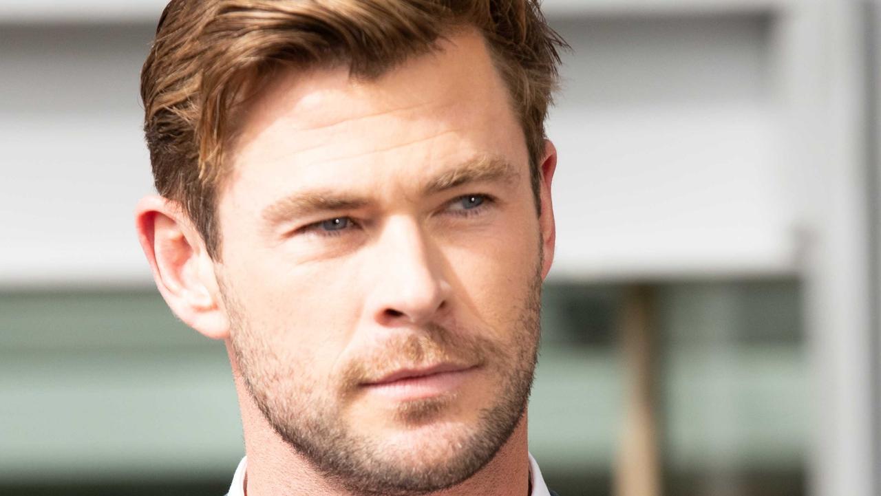 Chris Hemsworth, rolling in cash.