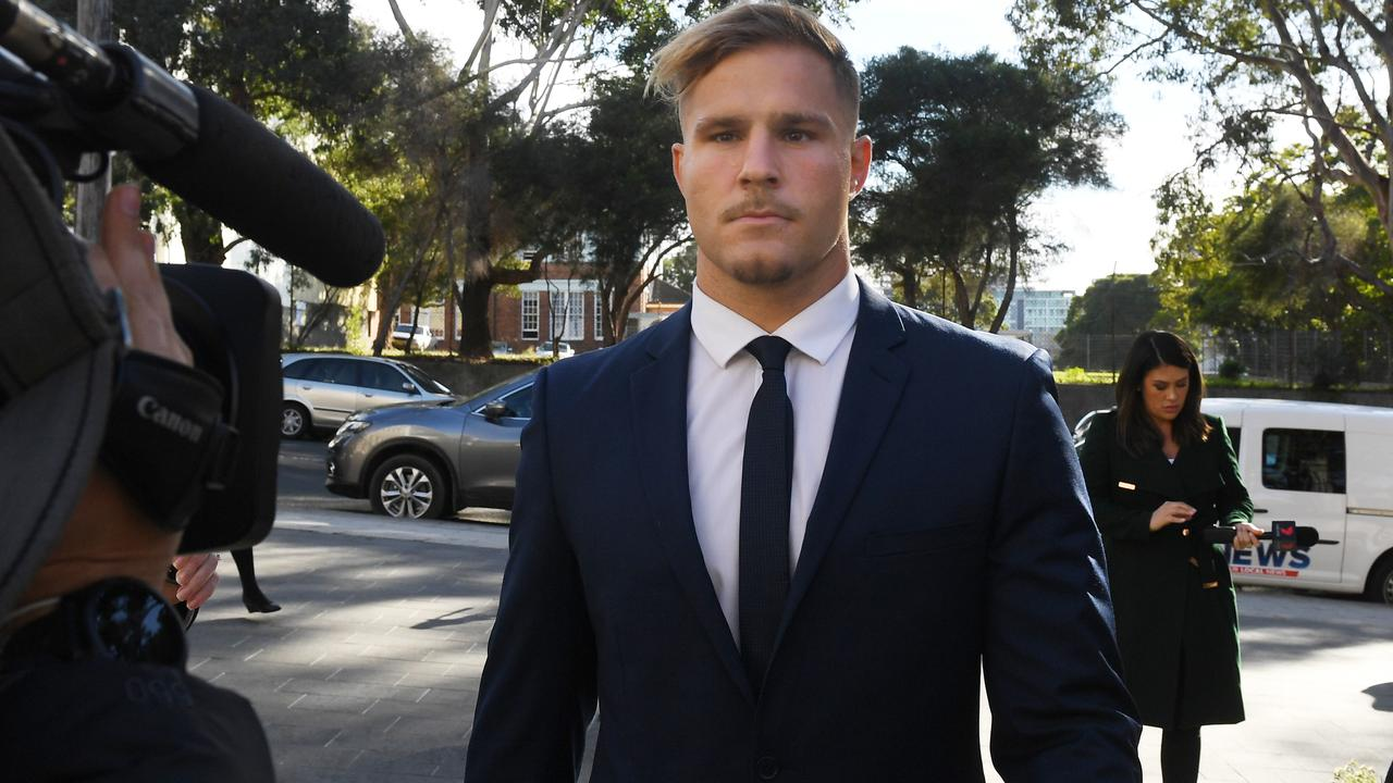 St. George Illawarra Dragons player Jack de Belin. Picture: AAP