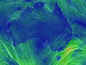 Monster waves, damaging winds batter Australia