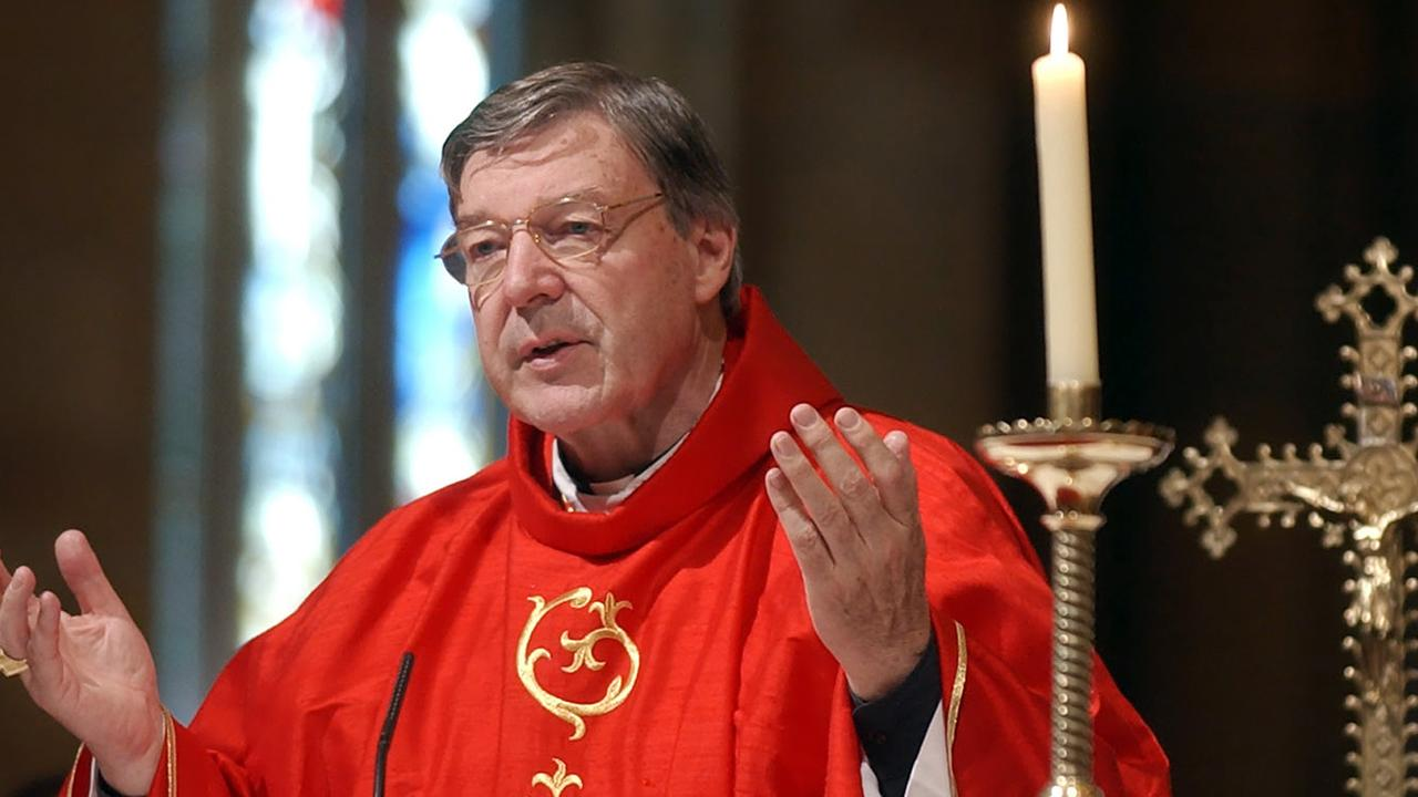 George Pell pictured when he was Archbishop of Sydney. Picture: Rick Rycroft/AP