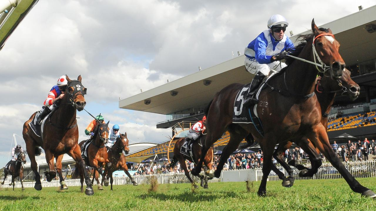 The plan is to name part of the suburbs after the iconic Rosehill Gardens Racecourse close by. Picture: AAP Image/Simon Bullard.