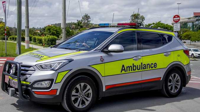 Teen hospitalised after 'falling' from car