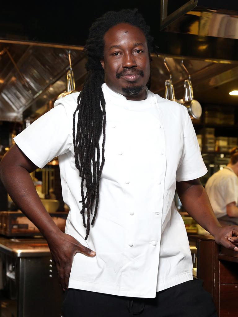 Paul Carmichael, executive chef, Momofuku Seiobo. Picture: Tim Hunter.