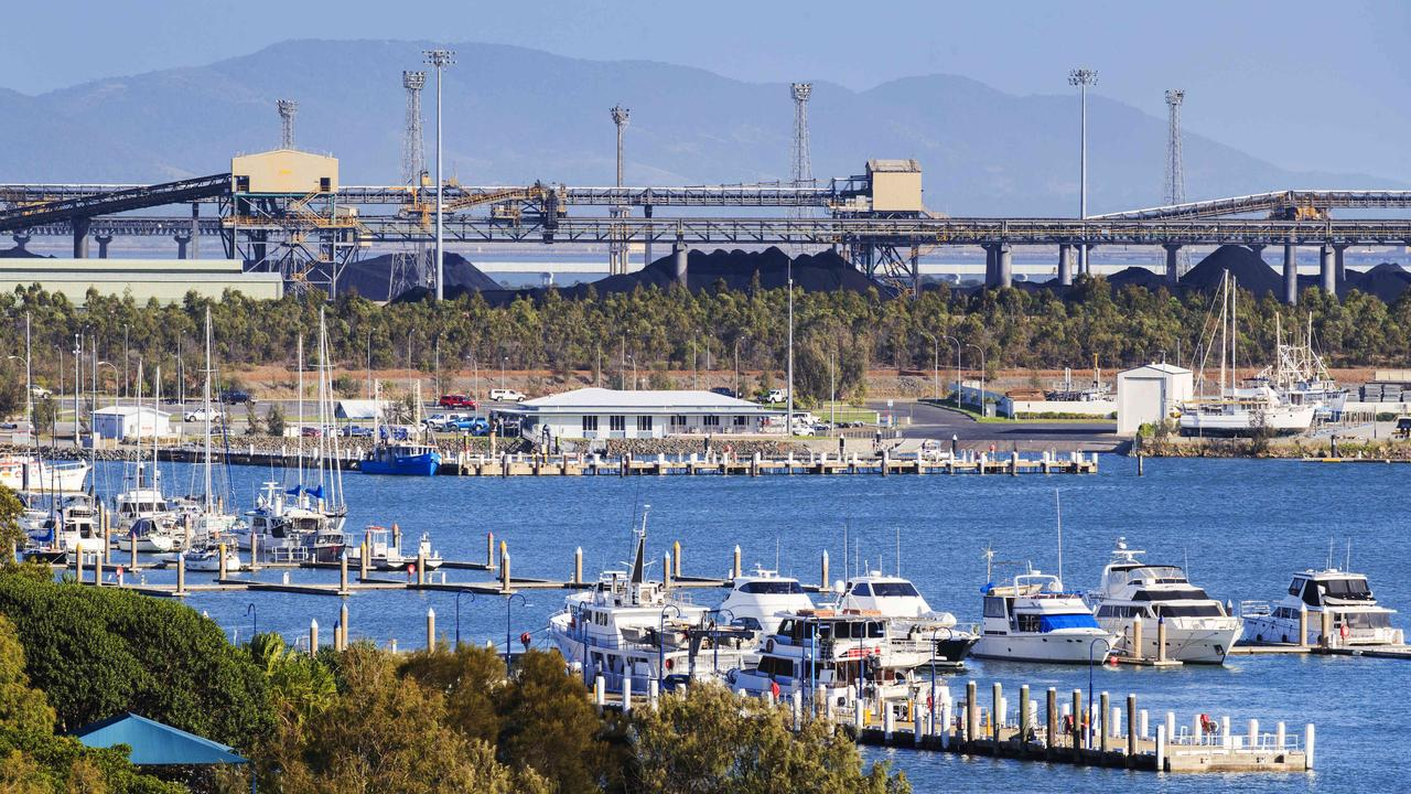 Gladstone Port will benefit from dredging of the Clinton channel. Picture: Lachie Millard