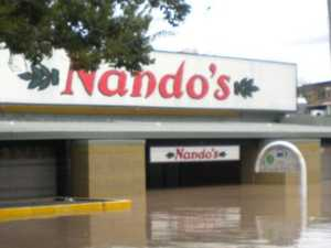 Nando's $2500 insult after flood wipe-out
