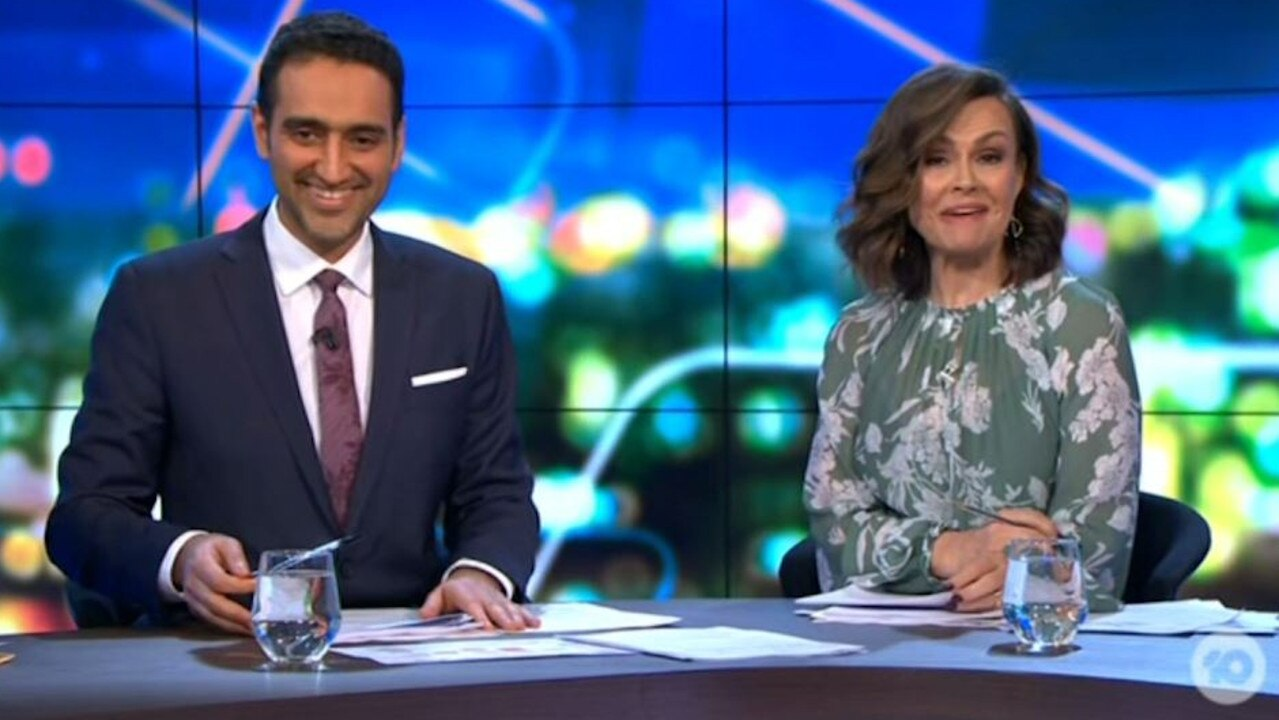 Waleed Aly and Lisa Wilkinson's faces say it all.