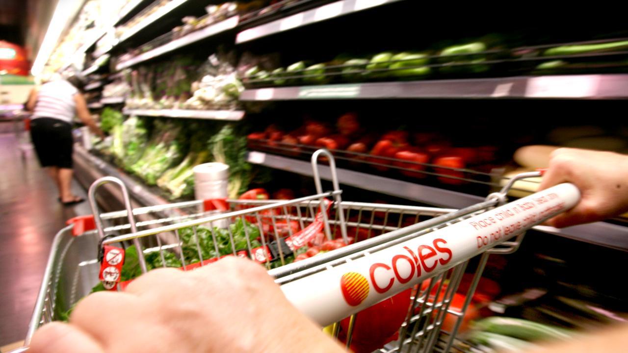 Supermarket sales rose 3.1 per cent.